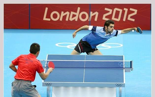 Taghribnews (TNA) - Alamiyan gets 1st Olympic table tennis victory ...