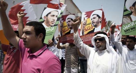 Bahraini protesters demand freedom of Sheikh Salman