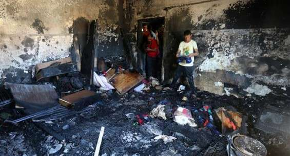 Israeli settlers torch Palestinian homes, burn baby to death