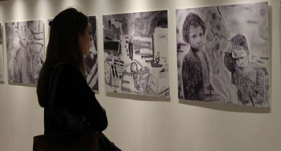 Gaza on Gaza, an art exhibition in theLondon