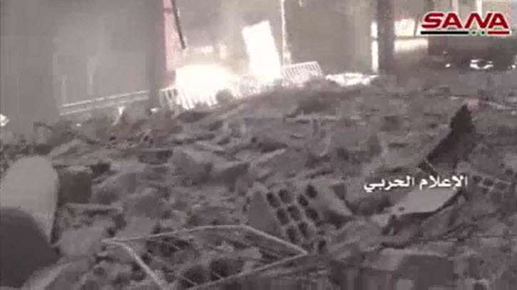 Hezbollah, Syria Army Advance in Damascus suburb (Video)