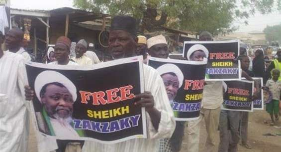 Nigerian protesters call for release of Shia cleric, Zakzaky