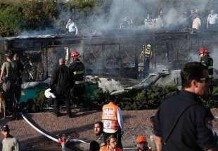 At least 20 injured in bus explosion in al-Quds