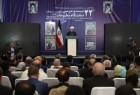 Rouhani visits 22nd Press Exhibition