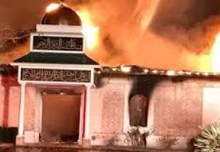 Islamic center of Victoria completely destroyed in Arson attack (photo)