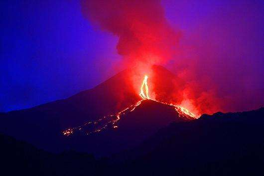 taly's Mount Etna has started spewing lava