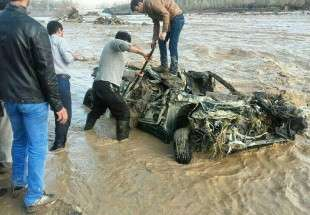 Floods hit Iranian North-Western Provinces