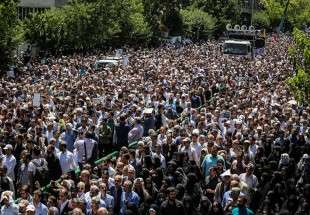 Tehran holds funeral service for terror victims