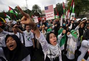 Al-Quds Day Rally Staged in Indonesia (Photo)