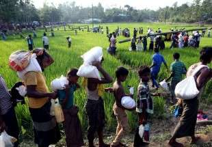First batch of Iran's humanitarian aid distributed among Rohingya refugees (photo)
